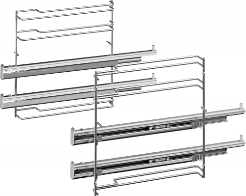 Bosch HEZ638270 Sütősín Full extension rails, 2-level