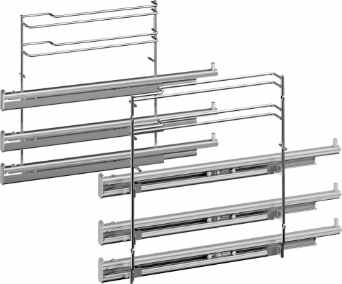 Bosch HEZ638370 Sütősín Full extension rails, 3-level